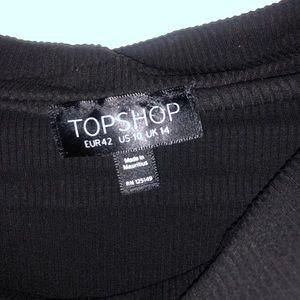 Topshop Tops - TOPSHOP Off the shoulder leotard